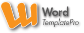 Word TemplatePro